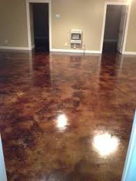 acid stained floors are easy to maintain clean up and add unique character to your home