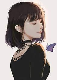 Realistic Anime Girl Short Hair ...