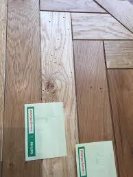 wood worms in wood flooring