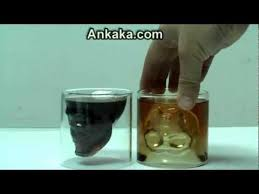 advice 2 ounces doomed crystal skull head whiskey vodka shot glass cup drinking ware for home bar