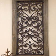 large metal wood wall panel antique vintage rustic chic