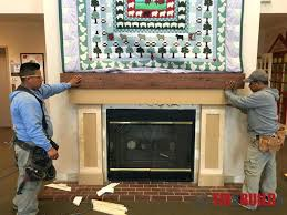 building a fireplace mantel surround