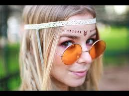 hippie hair makeup tutorial sÉrie carnaval alice golden locks