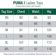 Puma Golf Size Chart Puma Racerback Golf Polo Shocking Pink