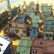 western pixel town