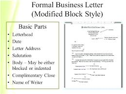 Official Letter Head Format Formal Letter Address Format Best Of Business Sample