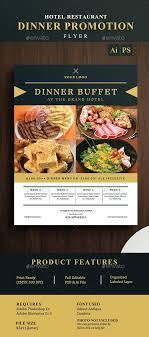 Catering Flyer Samples Hotel Restaurant Dinner Promotion Flyer Dni