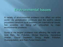 environmental issues jpg cb  3 a variety of environmental problems