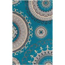 lounge alanna turquoise 8 ft x 10 ft indoor area rug