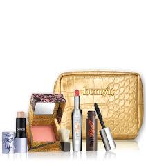 date night with mr right makeup kit includes benefit bestselling lipstick blush highlighter
