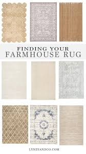 farmhouse style rugs. Finding The Perfect Farmhouse Rug // With So Many Rugs To Choose From, It Can Be Hard One For Your Home! Style Pinterest
