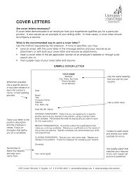 cover letter necessary template cover letter necessary