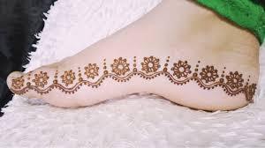 Foot Simple Mehndi Design 2018 Beautiful And Simple Floral Feet Henna Mehndi Design 2018 Shireen Mehndi Designs