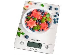 Купить <b>весы кухонные Maxwell MW-1478 MC</b> (пластик/стекло) по ...