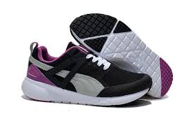 puma shoes purple and black. \u0027discount men\u0027\u0027s puma mesh running shoes black grey purple white ecty75tlj6\u0027 puma and