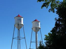 Water Tower Home My Home Town Of Garrison Nd Oh They Were So Clever With Their