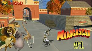 Small Picture Madagascar The Video Game Walkthrough Part 1 PC YouTube
