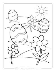 This free printable page will give complete joy for the kids to color the bunny and easter egg with their favorite colors. Printable Easter Coloring Pages For Kids Itsybitsyfun Com