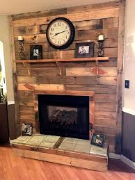 Rustic Wood Fireplace Pallet Fireplace Ideas Wood Pall on Pretentious  Reclaimed Wood Fireplace Mantel Meadow Creek