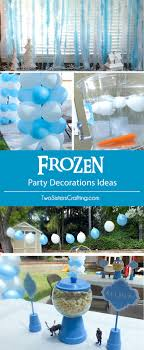 do you need disney frozen party decoration ideas we have them here including frozen birthday
