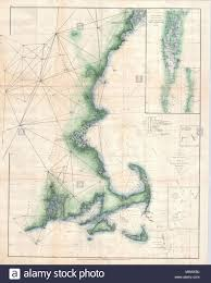 Massachusetts Nautical Charts Sketch A Shewing The Progressof Thesurvey In Section No 1