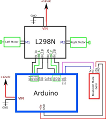 arduino controlled bluetooth bot 4 steps Bluetooth Wiring Diagram step 2 wiring connections parrot bluetooth wiring diagrams