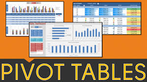 pivot table excel tutorial 2010 2016 2016 pivot tables slicers charts dashboards you