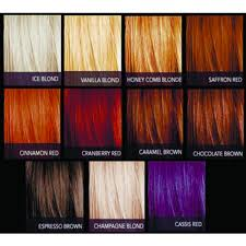 Cinnamon Hair Color Chart Sebastian Cellophanes