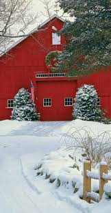Pin by Maryellen Smith on Barns | Red barns, Country christmas, Christmas  scenes