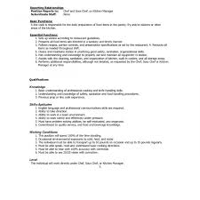 Sample Resume For Chef Download Kitchen Manager In - Sradd.me