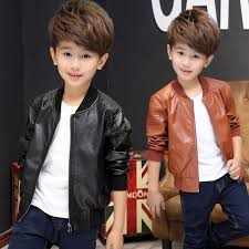 kids leather jackets motorcycle jacket cool baby boys biker coats outwear coat