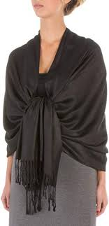 """Sakkas 78"""" X 28"""" Rayon from Bamboo Soft Solid Pashmina Feel ..."""