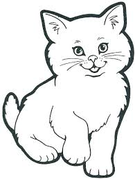 Printable Cat Coloring Pages Dogs And Cats Coloring Pages Printable