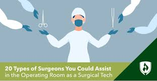 20 types of surgeons you could work