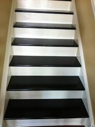 Carpet To Hardwood Stairs Plywood And Particle Board Stairs From Lino With Carpet To