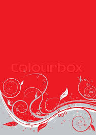 red and silver background. Wonderful Silver Floral Abstract Background In Red Silver And White  Stock Vector  Colourbox To Red And Silver Background R