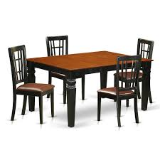 Bisonoffice 5 Pc Kitchen Table Set With A Dinning Table And 4