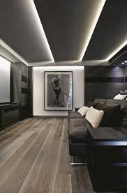 theatre room lighting. Lighting. Wood Flooring. Color Scheme. Large Photography Print. Home Theater. Screening Room. Theatre Room Lighting