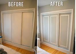 Best 25 Closet Door Makeover Ideas On Pinterest With Sliding Doors Idea 8  ...