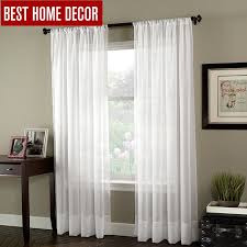 living room sheer window treatments. Beautiful Living Panels White Sheer Tulle Voile Scarfs Window Curtains For Living Room Rod  Pocket For Treatments E