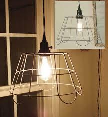 Stylish Basket Pendant Light Ideas For Your Living Room : Gorgeous Wire  Basket Pendant Lamp Design