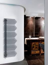 Hot water towel radiator / metal / contemporary / vertical ONICE LATO  DE'LONGHI RADIATORS ...
