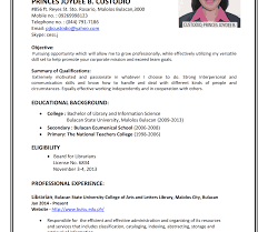 How To Write Resume For First Job After College Your Without