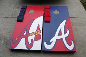 Atlanta Braves Stadium Design Atlanta Braves Corn Hole Boards Check Www Facebook Com
