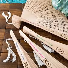 Cheap Personalized Wedding Hand Fans