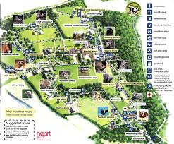 zoo map template. Fine Map Old Map Of Marwell Zoo For Zoo Map Template