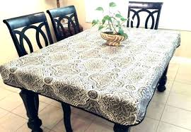 round patio table covers elastic tablecloth vinyl elasticized cover white
