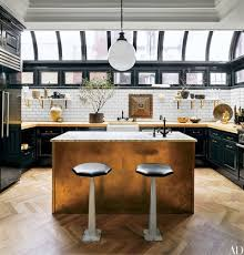 Kitchen island table ideas Small Kitchen The Kitchen Of Nate Berkus And Jeremiah Brents Former New York Apartment Is Outfitted With Cabinetry Architectural Digest 28 Stunning Kitchen Island Ideas Architectural Digest