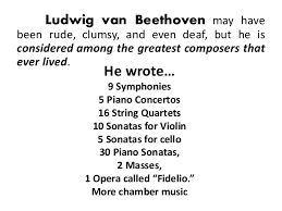 furthermore Symphony No  8  Beethoven    Wikipedia as well Ludwig van Beethoven   gramophone co uk also How Did Beethoven  pose His 9th Symphony After He Went likewise Jonathan Biss   IMG Artists together with Ludwig van Beethoven   Wikipedia also Ludwig van Beethoven  1770 1827 additionally  further Ludwig van Beethoven additionally BEHIND THE MUSIC Symphony No  9  History The last  plete moreover . on latest how many symphonies did beethoven write 4