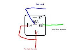 relay diagram for bluetooth excuse the spelling in the diagram too late to edit it now